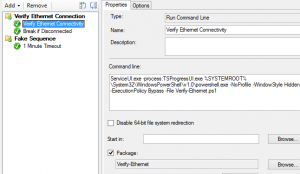 Verify Ethernet Connectivity in Task Sequence – stolpestad net